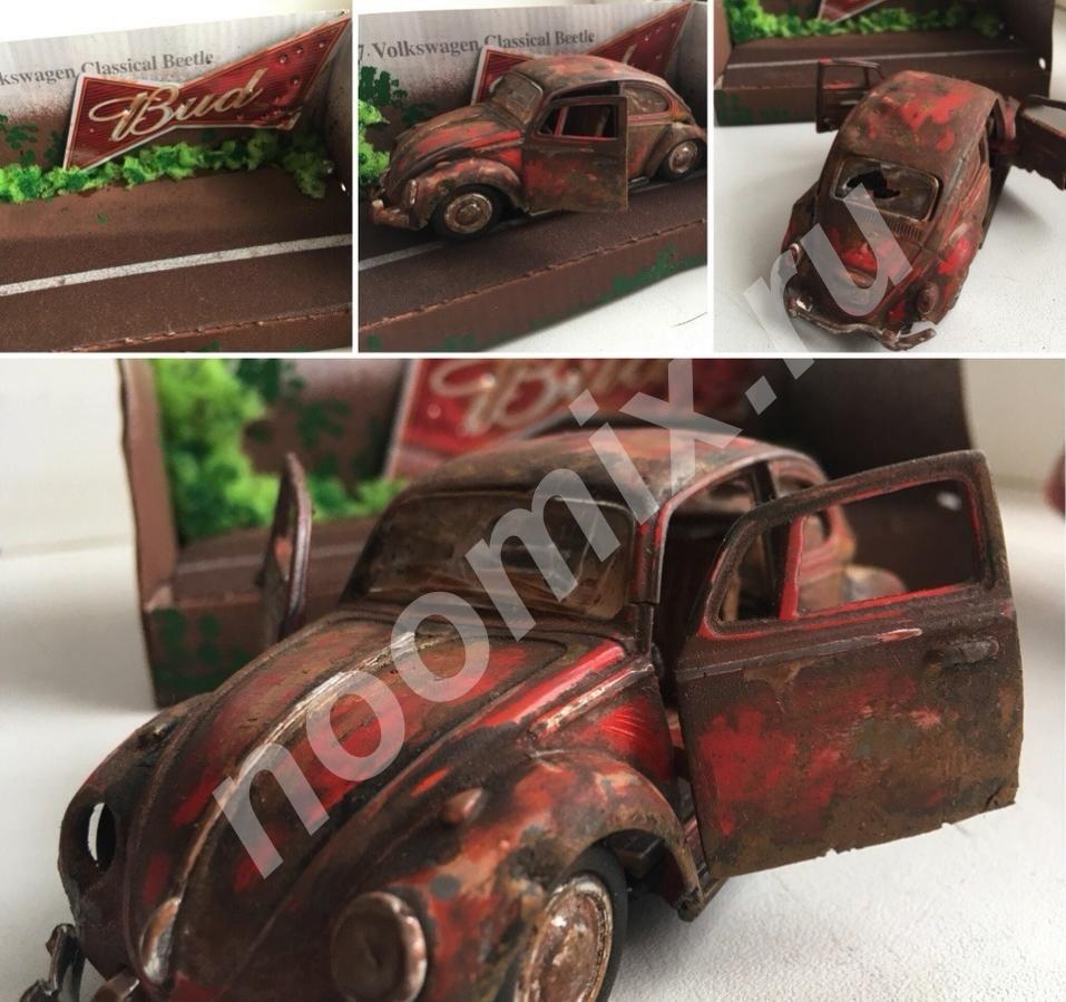 Модель Volkswagen Beetle, ретро, жук