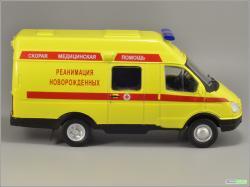 Автомобиль на службе 40 Семар-3234. Реанимация новорожденных