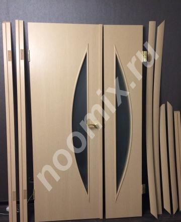Ламинированная межкомнатная дверь беленый дуб,  МОСКВА