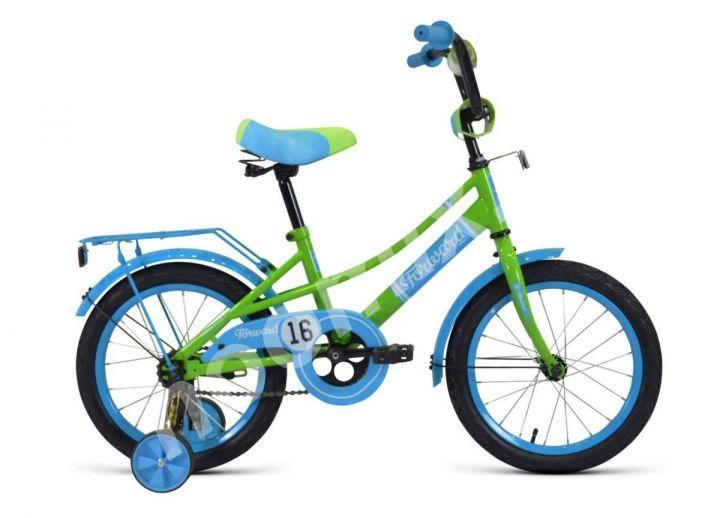 Велосипед forward Azure 18 2020 зеленый-голубой,  МОСКВА