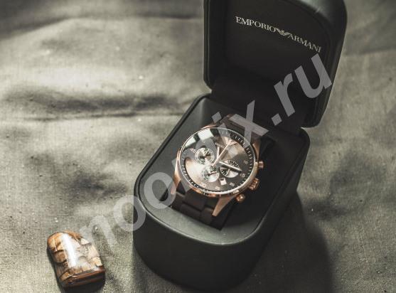 Новые часы Emporio Armani, Республика Бурятия