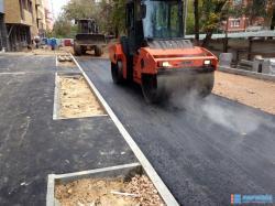 Асфальтирование дорог и благоустройство территорий
