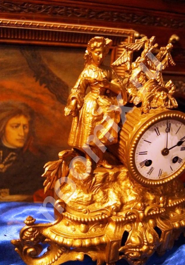 Антикварные, часы, 1840 года, Париж, Чукотский АО