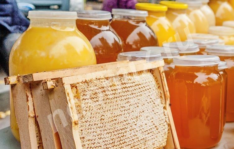 Свежий майский мед с домашней пасеки, Новгородская область
