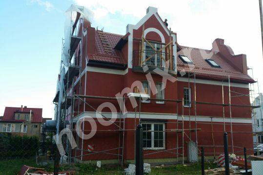 Утепление и отделка фасада, Калининградская область