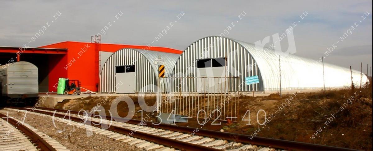 Продам арочный быстровозводимый разборный ангар, Смоленская область