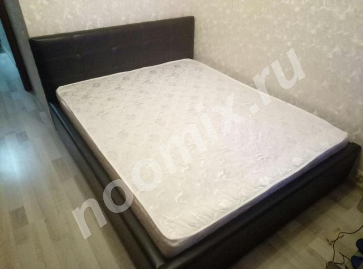 Кровать Роза новая с матрасом, черная,  МОСКВА