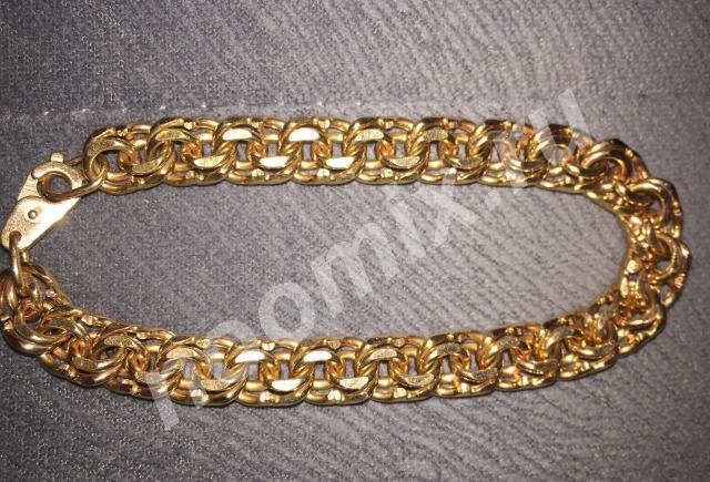 Золотой браслет мужской, Ханты-Мансийский АО