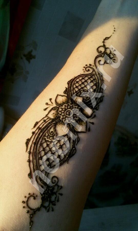 Роспись хной по телу, Курская область
