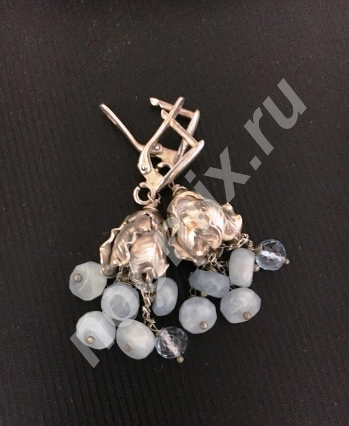 Продаю Серьги серебряные, Курская область
