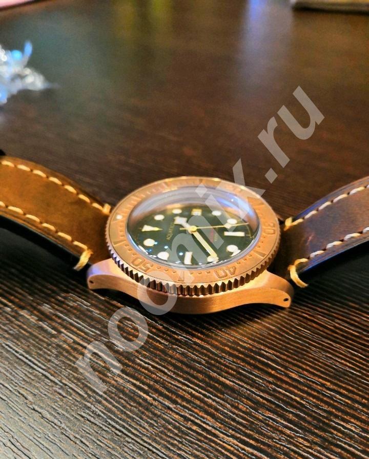 Бронзовые часы Aquatico Sea Star, Хабаровский край
