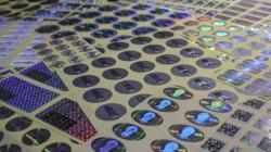 Голограммы, защитные этикетки от производителя
